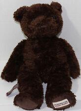 Herrington Bears CHEESECAKE FACTORY CHOCOLATE BROWN TEDDY Bean Filled PLUSH Cute