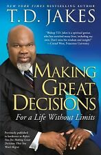 MAKING GREAT DECISIONS a paperback book by T D Jakes td FREE SHIPPING