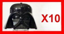 GENUINE LEGO HEADGEAR MASK DARTH VADER HELMET X10 AUTHENTIC STAR WARS MINIFIGURE