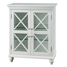 Elegant Home Fashions - ELG-632 - Blue Ridge Floor Cabinet With 2 Doors White