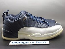 VTG Nike Air Jordan XII 12 Low Obsidian Retro 2004 sz 10.5