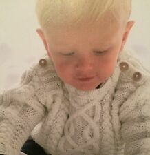 Babies / Toddlers Cable Jumper ( 3 - 24 months) Knitting Pattern