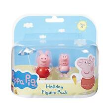 Peppa Pig Holiday Time Twin Figure Pack - Peppa & George in Swimsuits *NEW*