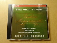 CD / BERLIOZ, JOHN ELIOT GARDINER: MESSE SOLENNELLE, WORLD PREMIERE RECORDING