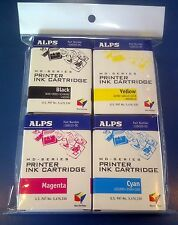 Alps MD Printer Ink Cartridge - CMYK Color 4-Pack 106058-00