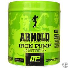 Arnold Series Iron Pump Pineapple Mango Pre-Workout (30 Servings)(Best By 4/16)