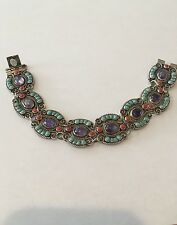 Vintage Taxco Mexico Sterling Silver Matilde Poulat MATL Style Bracelet SIGNED