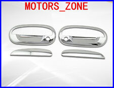 97-03 FORD F150 Stainless Steel DOOR HANDLE COVERS TRIM KEYPAD