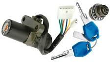 V PARTS Juego kit cerraduras llaves cerrajas   DERBI GPR 50 2T (1997-2003)