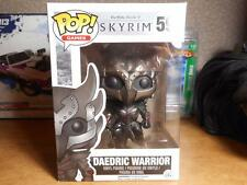 Funko Pop GAMES  #59- DAEDRIC WARRIOR SKYRIM THE ELDER SCROLLS V 5 BOBBLEHEAD