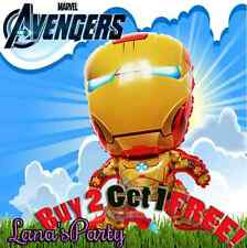 █_ 28'' IRON MAN Avengers BALLOON * MARVEL SUPER HERO DISNEY BIRTHDAY PARTY