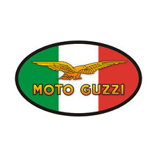 Sticker MOTO GUZZI Italie - Le Mans - V7 California Nevada Bellagio - 10cm x 6cm