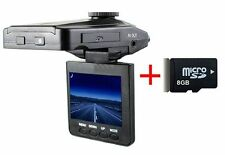 "2.4"" Full HD 1080P Visione Notturan Auto Camera DVR Registratore Dash Cam + 8GB"