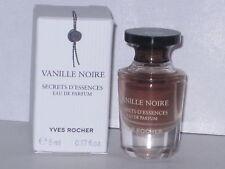VANILLE NOIRE YVES ROCHER MINI EAU DE PARFUM 0.17 oz/ 5 ml. NEW WITH BOX!!