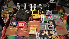 Nintendo Game Boy Color Pokémon Edition Yellow Handheld System