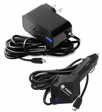 Pwr+® Fastest 3.5A AC+Car Charger for Asus Transformer Book Pad T100 T100TA MG10