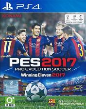 Pro Evolution Soccer 2017 PS4 Game (English / Chinese) Asia Winning Eleven PES