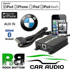BMW 3 Series E46 1996-2005 STEREO AUTO AUX IN iPod iPhone interfaccia bluetooth