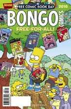 FCBD BONGO FREE FOR ALL 2016 SIMPONS BART SIMPSON UNSTAMPED NMINT #snov16-705