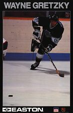 "STARLINE POSTER~Wayne Gretzky Easton 1990 Los Angeles LA Kings Original 23x35""~"