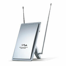 New Lava A-200 Indoor Home Digital TV Antenna VHF/UHF/FM Lavasat A200 HDTV