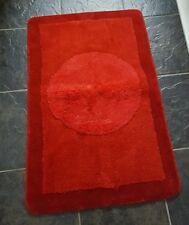 Ridder 72503060-350 Macau Red Micro-fibre Bath Mat 60 X 90cm