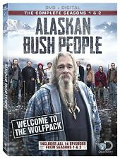 Alaskan Bush People Series Complete Season 1 2 DVD Set Collection Episode TV All