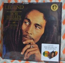 BOB MARLEY - LEGEND 30th Anniversary LTD 2XLP TRI-COLOR VINYL Gatefold Jacket