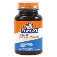 Elmers Rubber Cement Repositionable 4 oz E904