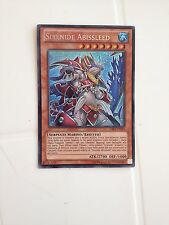 YU GI OH  SIRENIDE ABISSLEED CBLZ-IT034 SEGRETA- NEAR MINT ITALIANO