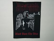 BLASPHEMY BLOOD UPON THE ALTAR SUBLIMATED BACK PATCH