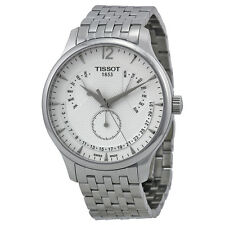 Tissot T-Classic Tradition Multi-Function White Dial Stainless Steel Mens Watch
