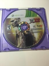WWE '12 (Xbox 360) - DISC ONLY