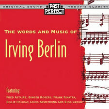 CD WORDS AND MUSIC OF IRVING BERLIN ASTAIRE GIBBONS  HOLIDAY BOSWELL BOWLLY ETC