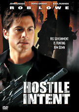 HOSTILE INTENT, ROB LOWE, JOHN SAVAGE, DVD