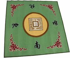 "31"" Green Slip Slide Resistant Mahjong Card Domino Game Table cover Mat"