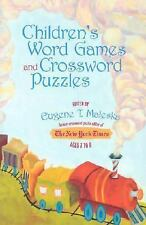 Children's Word Games and Crossword Puzzles, Ages 7-9, Volume 3 (Other)