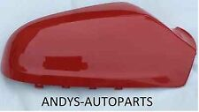 VAUXHALL ASTRA WING MIRROR COVER (NEW)54-09 LH OR RH SIDE IN FLAME RED