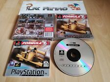 PLAY STATION PSX PS1 FORMULA ONE 1 PLATINUM COMPLETO PAL ESPAÑA