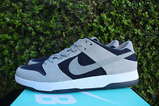 NIKE SB DUNK LOW ELITE SZ 9 DUNK RETHUNK GREY DARK OBSIDIAN NAVY 864345 004