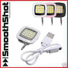LED Light per Fotocamera smartphone Selfie Flash Samsung iOS iPad iPhone 4 5 5s 6 6+
