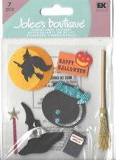 Jolee's - Halloween Essentials Scrapbooking 3D sticker - 7 pieces, Witch Broom