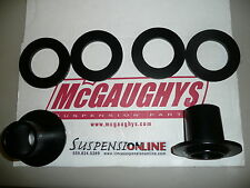 mcgaughys front coil relocators drop coil 1 1.5 2 inch drop spring pockets chevy