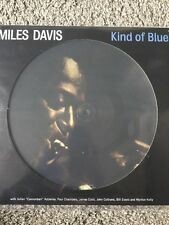 MILES DAVIS 'KIND OF BLUE LP' REPRESSED REISSUE ON PICTURE DISC VINYL - NEW
