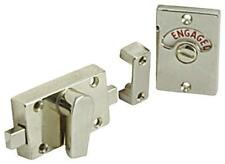 TOILET/ BATHROOM DOOR LOCK INDICATOR BOLT  POLISHED CHROME