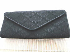 "Ladies ""New Look"" Black Lace Evening Clutch bag"
