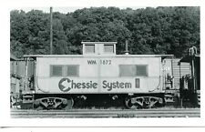 G198 RP 1970s? CHESSIE SYSTEM WESTERN MARYLAND RAILROAD CABOOSE WM1872