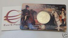 Coin card 2,5 euro 2015 bu BELGIO Belgique Belgica Belgie Belgium Waterloo 1815