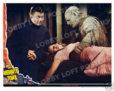 THE MUMMY'S TOMB LOBBY SCENE CARD # 4 POSTER 1942 TURHAN BEY LON CHANEY JR.