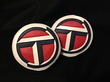 TALBOT SUNBEAM LOTUS LOGO FOG / SPOT / DRIVING LAMP LIGHT COVERS